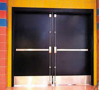 Double Steel Door